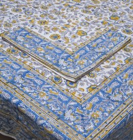 TABLECLOTH PROVENCE BLUE YELLOW