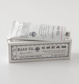 BARR CO LOTION HAND AND BODY CREAM TUBE ORIGINAL SCENT 3.4 OZ LARGE