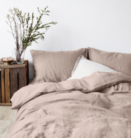Portobello King Sized Linen Duvet with 2 Shams