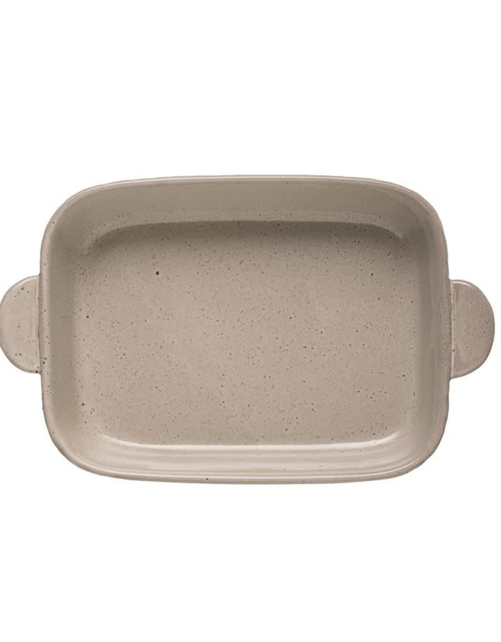 2 Quart Debossed Stoneware Baker