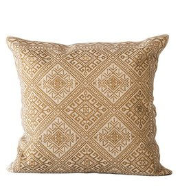 Gold Embroidered Pillow
