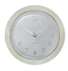 BLOOMINGVILLE Round Metal Clock