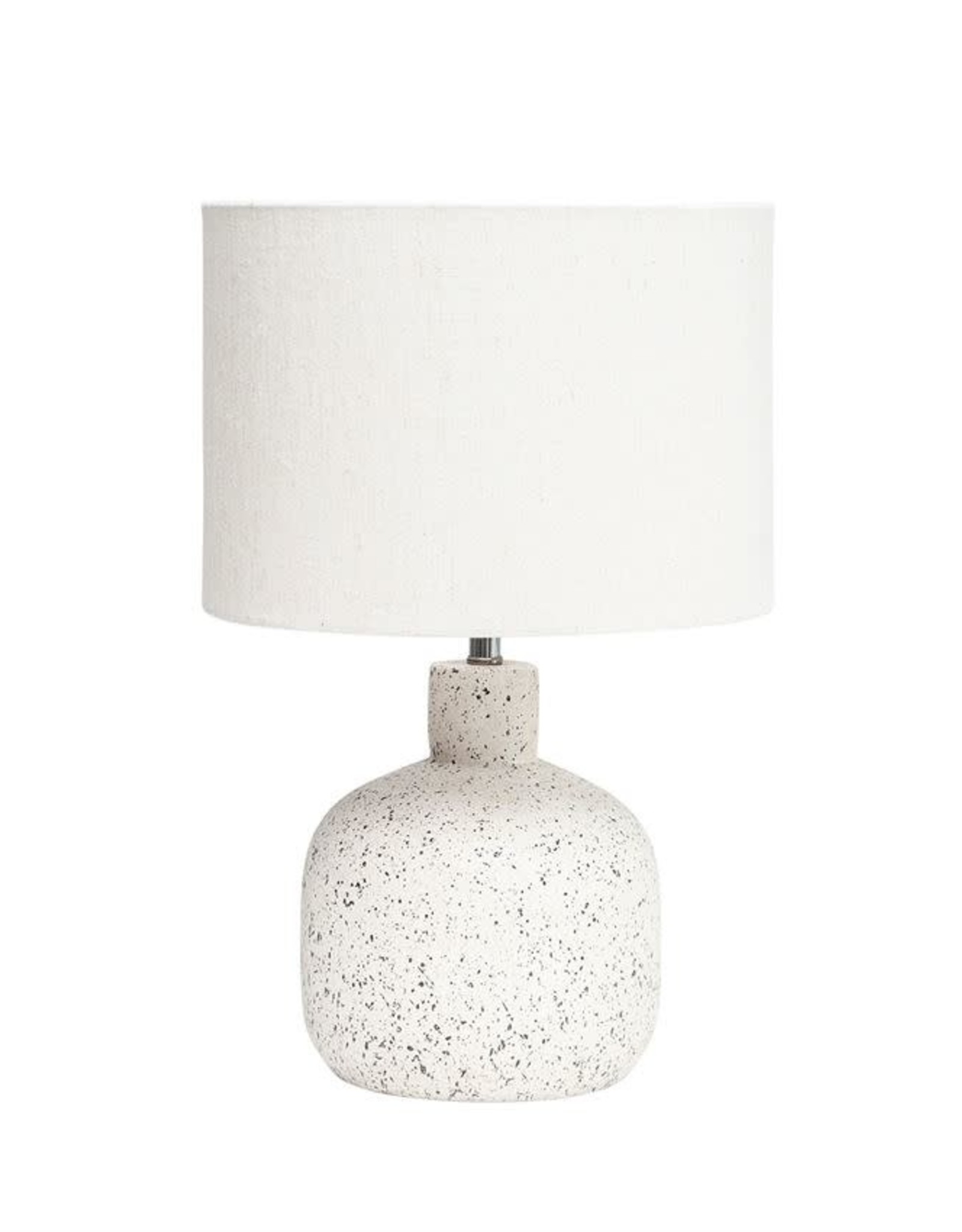 White Terracotta Table Lamp
