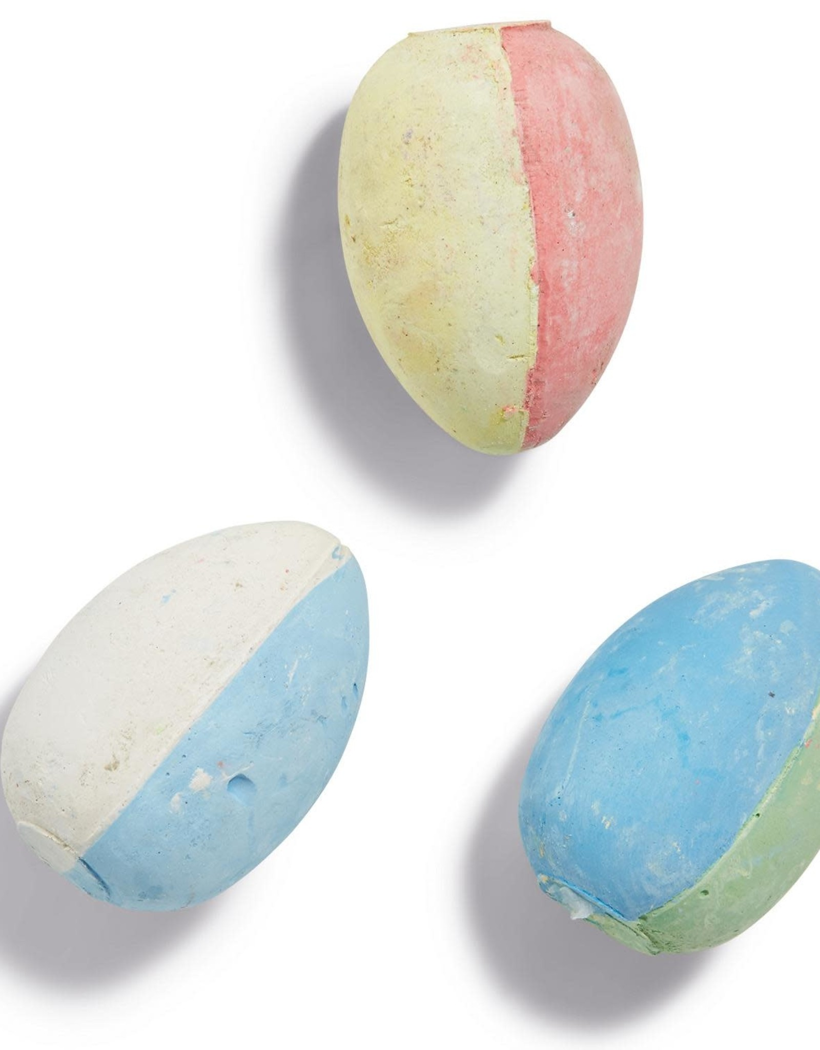 EGG CHALK IT UP TWO TONE SET OF 6 IN GIFT BOX