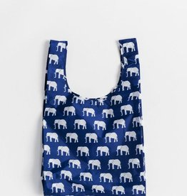 Blue Elephant Reusable Shopping Bag