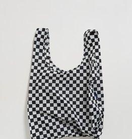 BAGGU BAG SHOPPING REUSABLE BLACK CHECKERBOARD