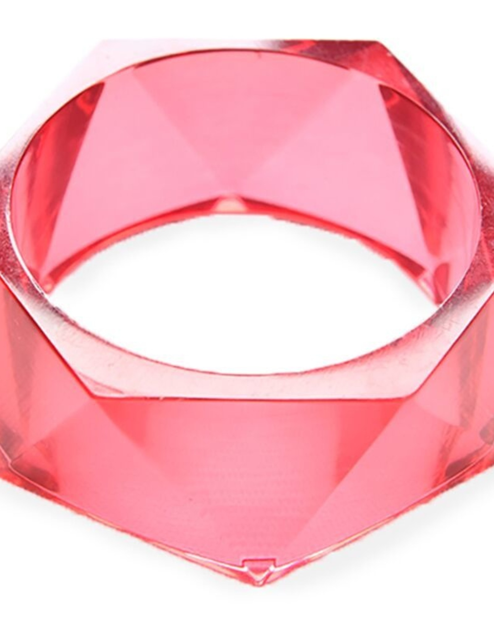 Pink Lucite Bangle