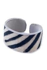 Zebra Cuff Bracelet