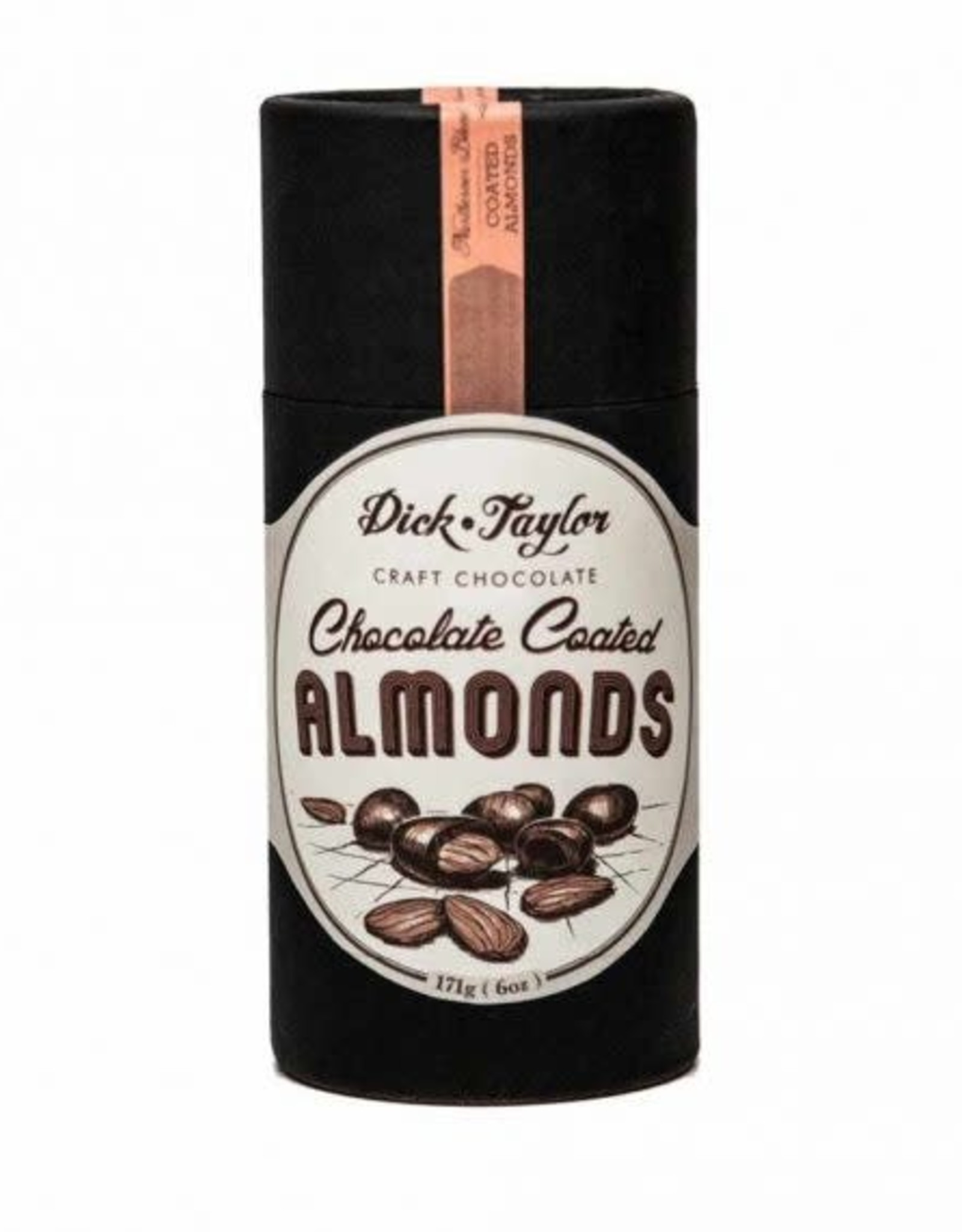 DICK TAYLOR CANDY ALMONDS CHOCOLATE COATED
