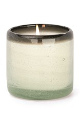 PADDYWAX CONTAINER CANDLE VANILLA ROSA BLACK RIMMED BUBBLE GLASS 9 OZ