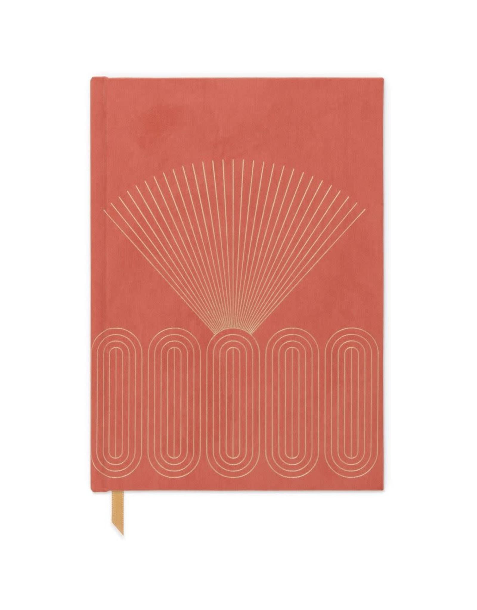 Terracotta Radiant Rays Journal
