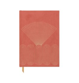 Terracotta Radiant Rays Journal