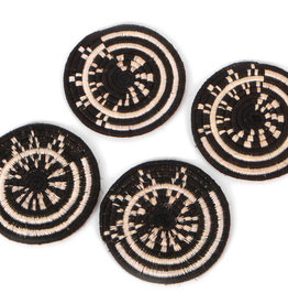 Black Mara Coaster Set of 4