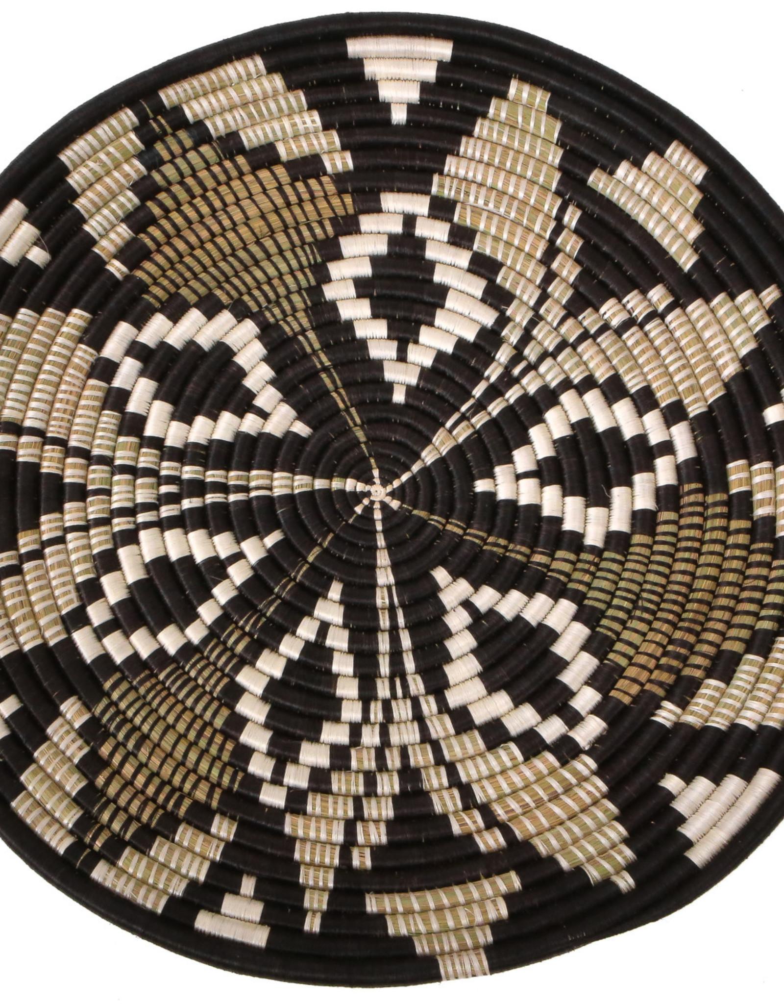 Black Tilda Plate