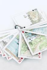PLAYING CARDS CALIFORNIA COAST