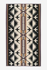 PENDLETON Spider Rock Black and White Oversized Towel