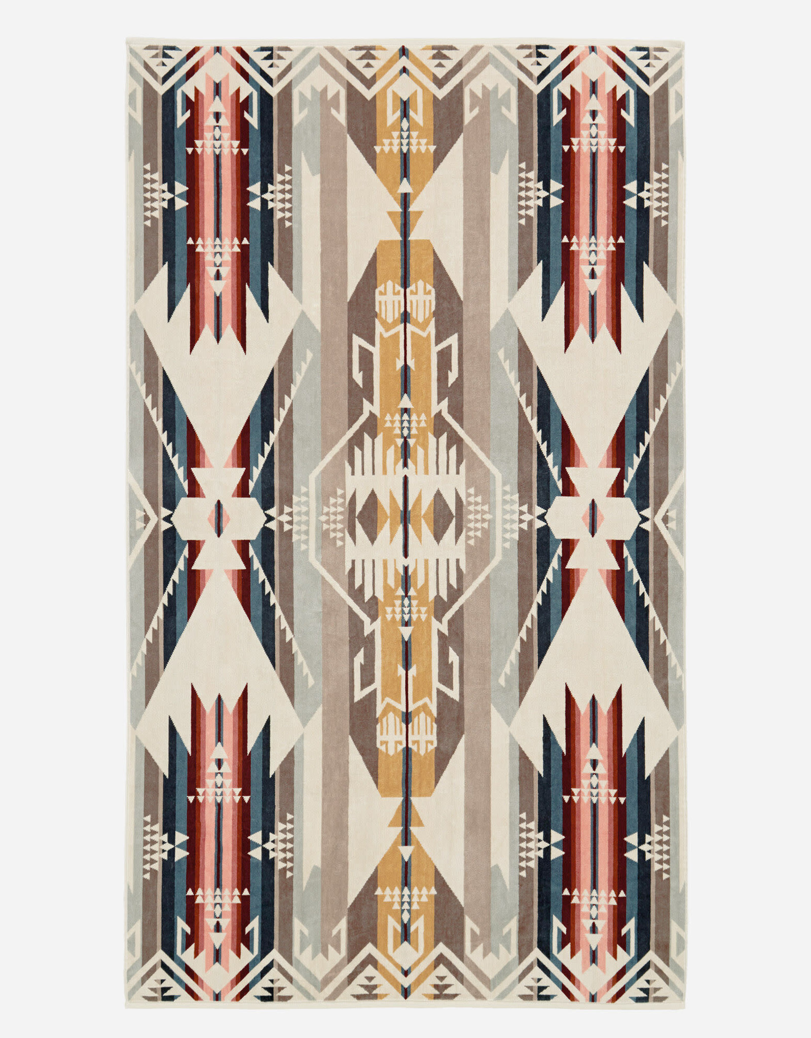 PENDLETON White Sands Tan Oversized Towel