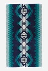 PENDLETON Papago Park Turquoise Oversized Towel