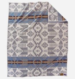 PENDLETON Heritage Silver Bark Jacquard Wool Robe Blanket