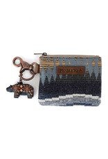 PENDLETON Crescent Bay Pouch with Bear Keychain