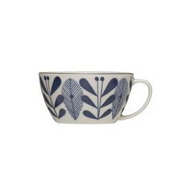 Blue and White Porcelain Mug