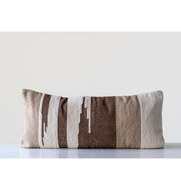 Brown Kilim Lumbar Pillow