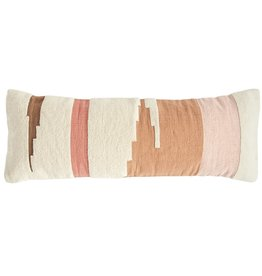 Multicolor Kilim Lumbar Pillow