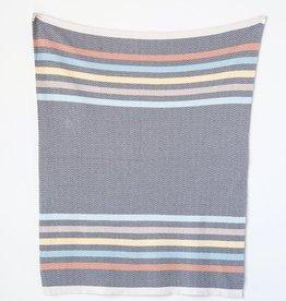 Multicolor Stripe Baby Blanket
