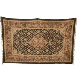 Earth Toned Cotton Rug