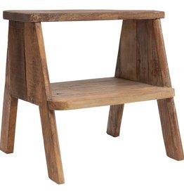 Reclaimed Wood Stool/Side Table