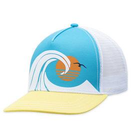 White Wedge Hat