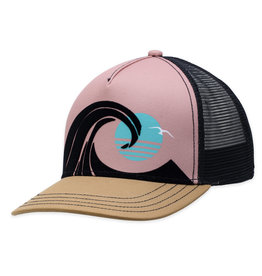 Black Wedge Hat