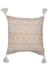 Neutral Geometric Pattern Pillows