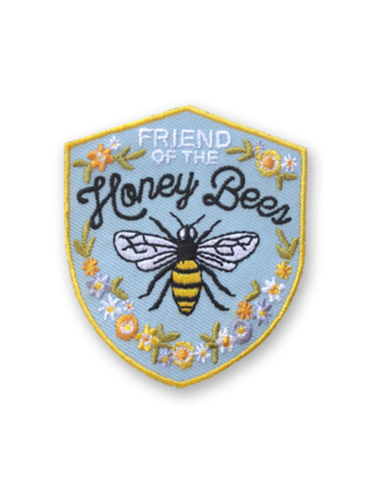 Honey Bee Iron on Patch