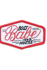 Boss Babe Iron on Patch