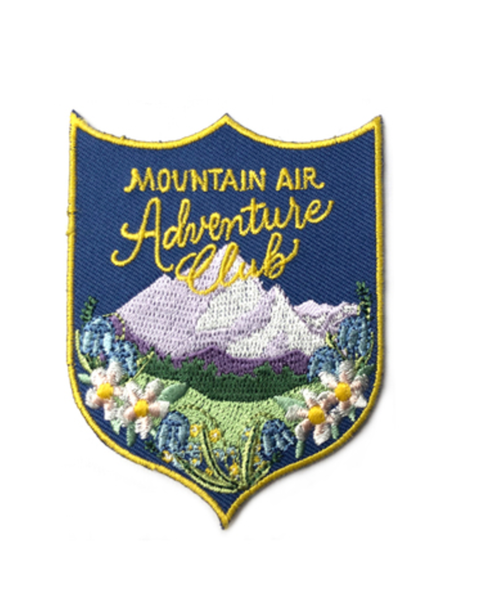 Mountain Air Adventure Club Iron on Patch