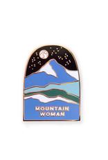 Mountain Woman Enamel Pin