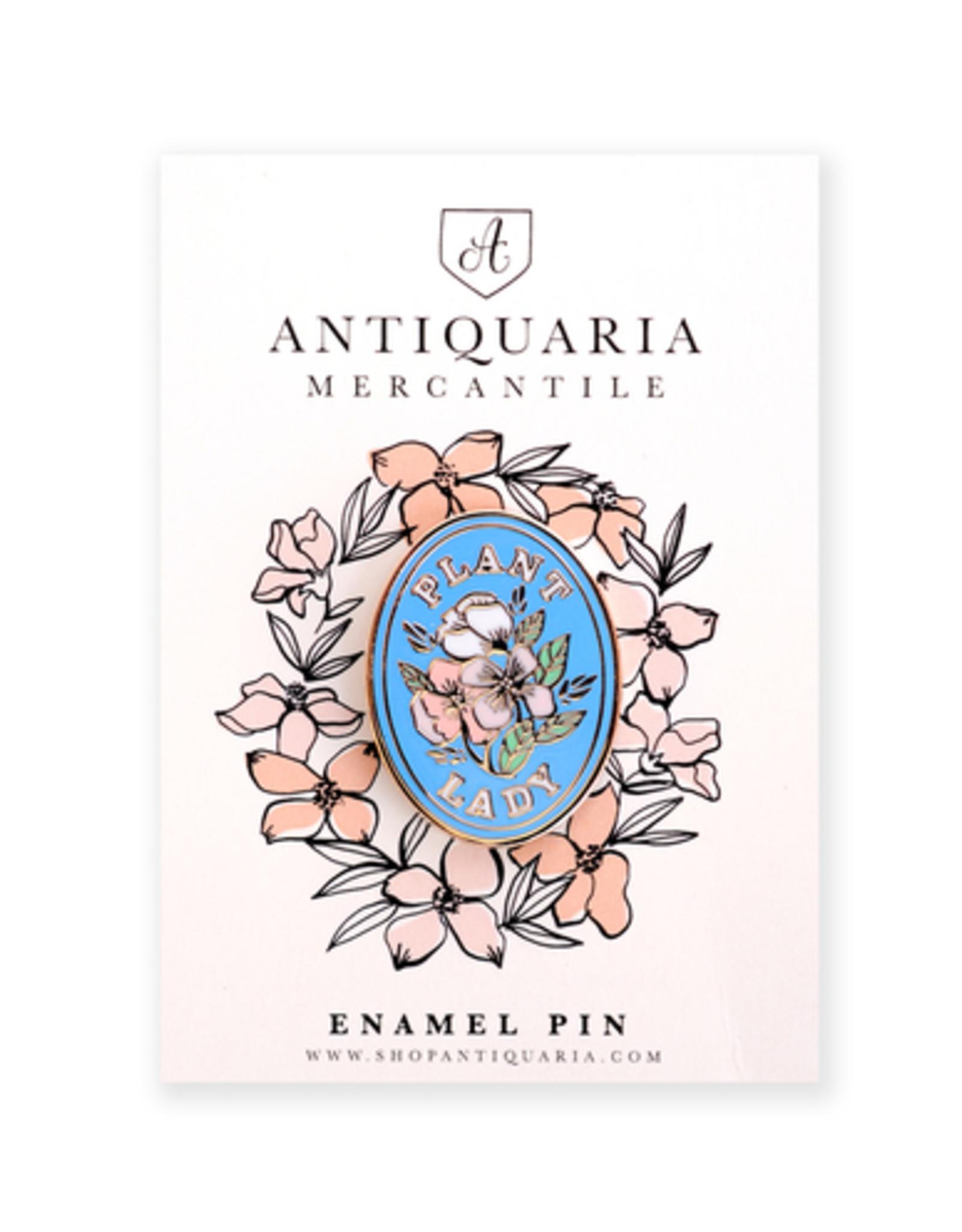 Plant Lady Enamel Pin
