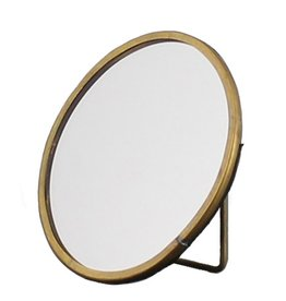 MIRROR BRASS EASEL SMALL