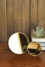 Small Brass Easel Mirror