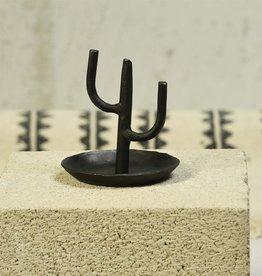 Cast Iron Cactus Ring Holder