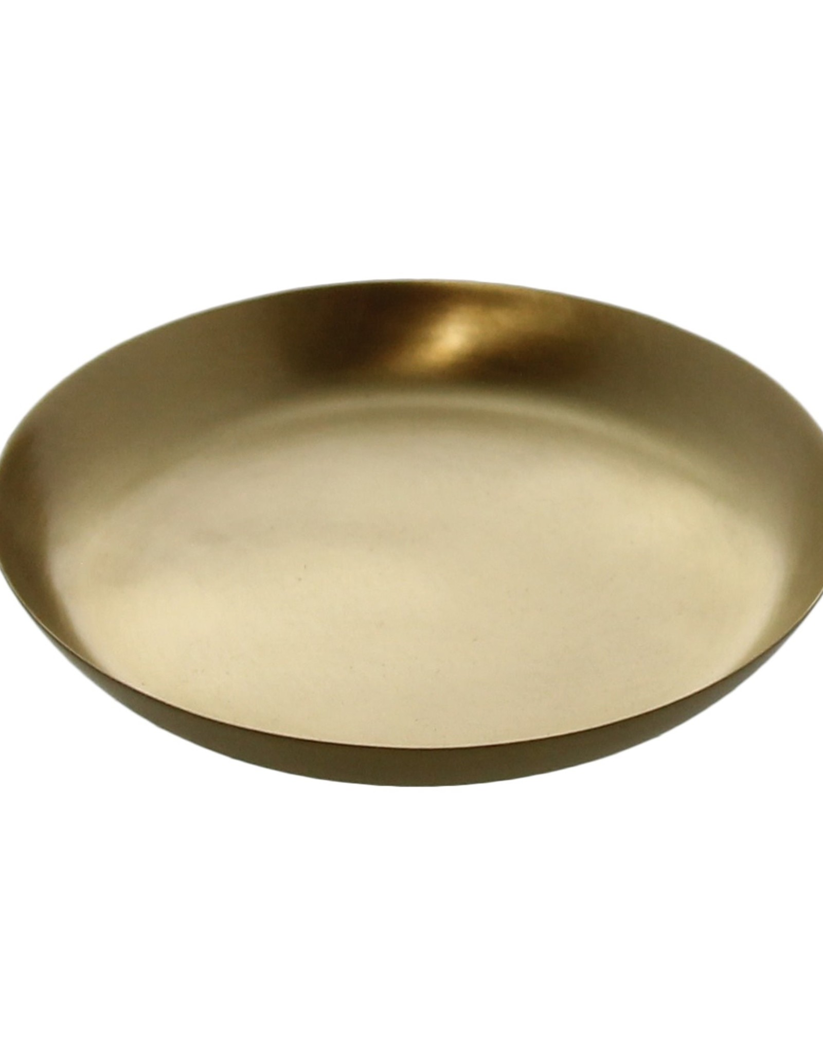 Small Brushed Brass Tray