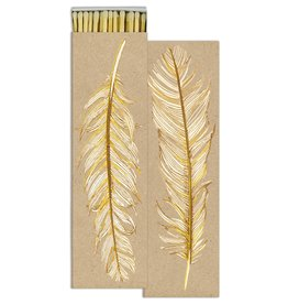 Gold Feather Safety Matches