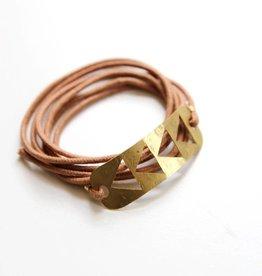 Flying Geese Wrap Bracelet