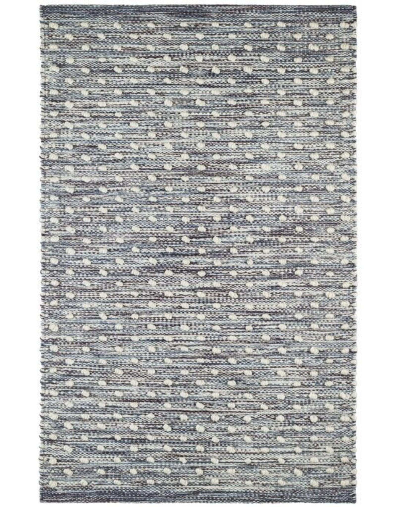 Blue Hobnail 5'x8' Indoor/Outdoor Rug