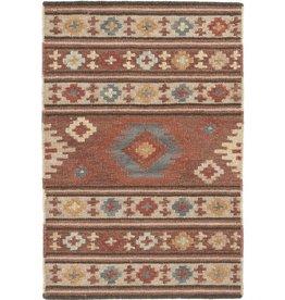Canyon 3'x5' Kilim Woven Wool Rug