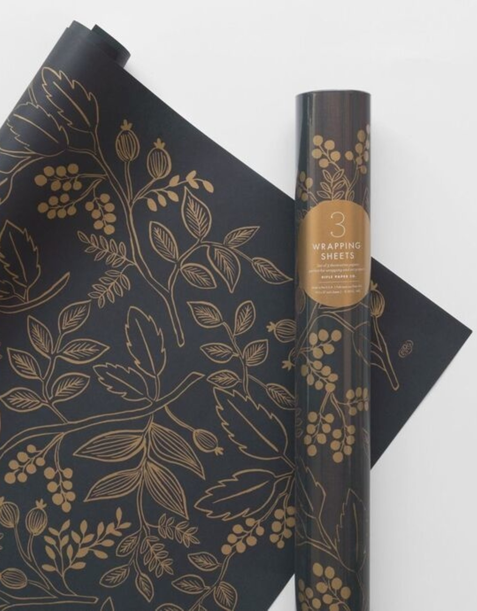 Roll of 3 Wrapping Sheets - Queen Anne
