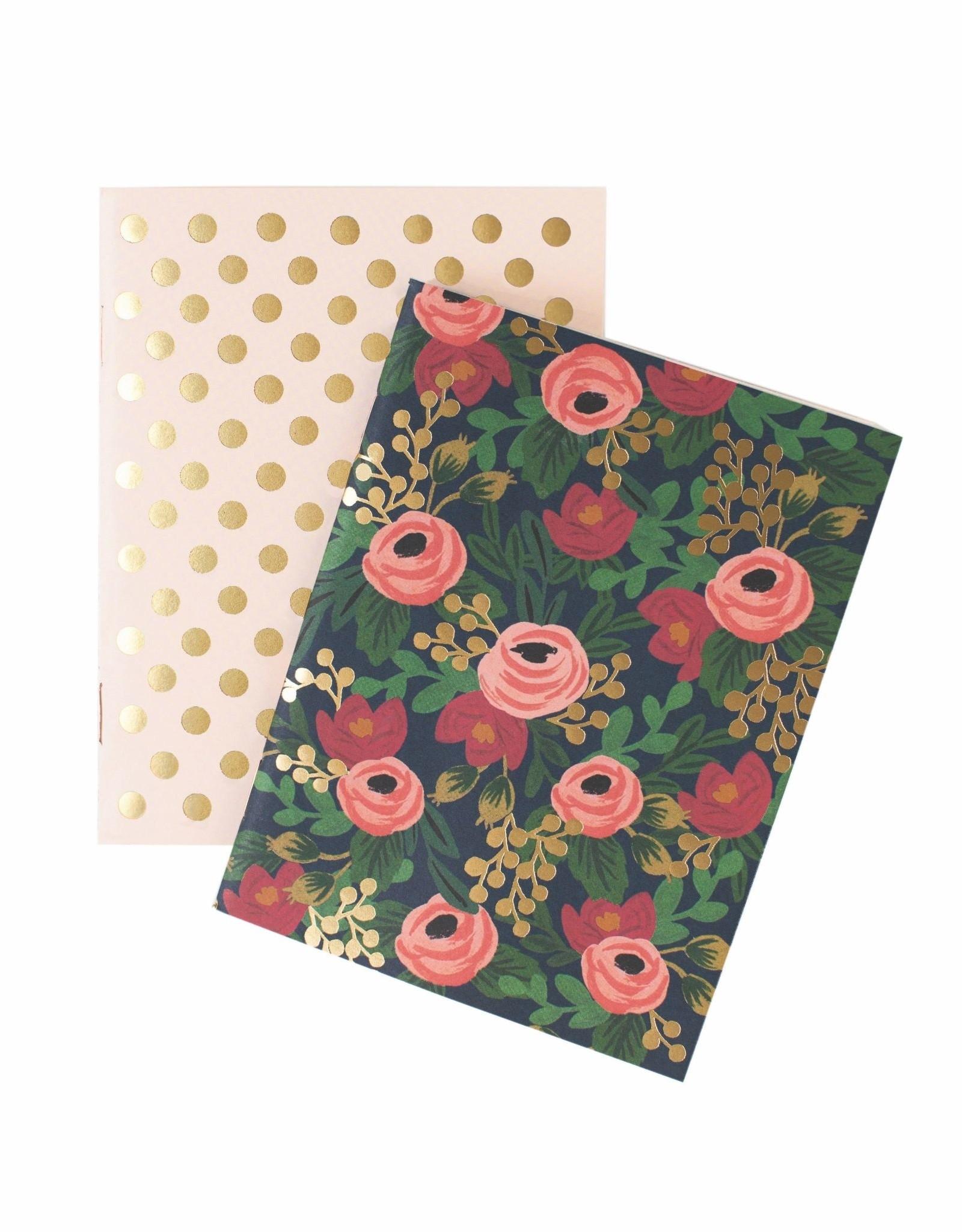 Set of 2 Pocket Notebooks - Rosa