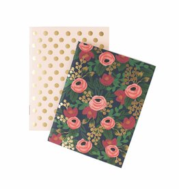 Set of 2 Pocket Notebooks - Rosa