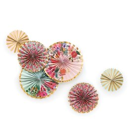 Garden Party Fans - Set of 6